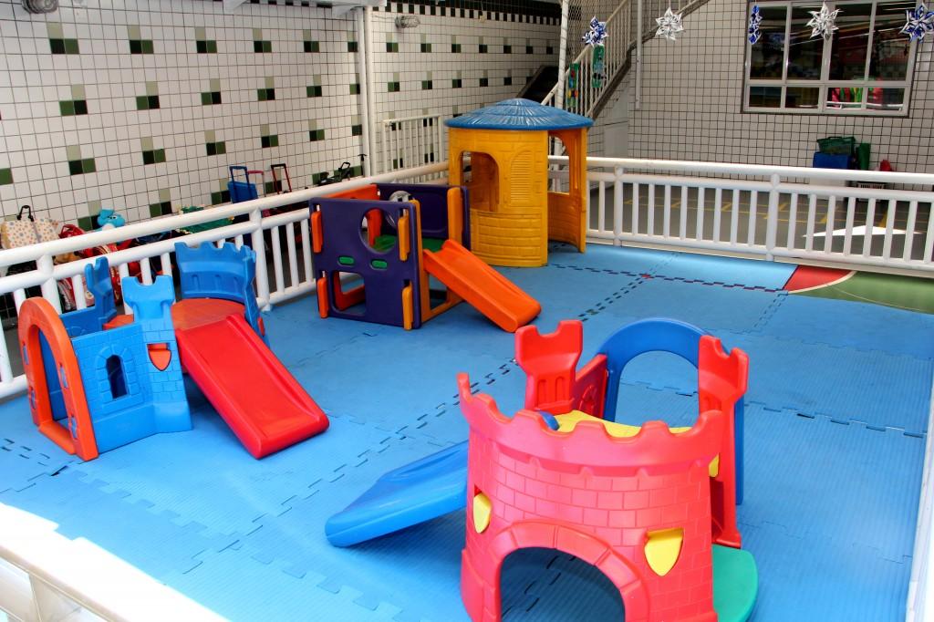 Espaço para atividades da Educação Infantil